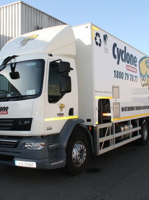 Onsite Shredding - Scheduled Services